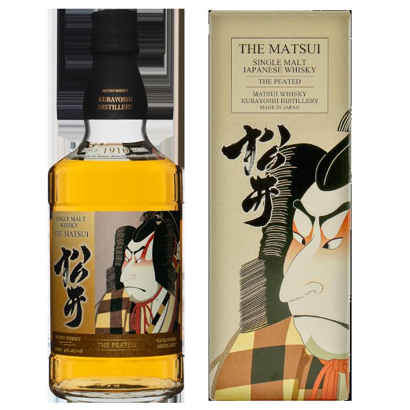 松井单一麦芽威士忌「松井 麦芽 免税店限定设计瓶装)」