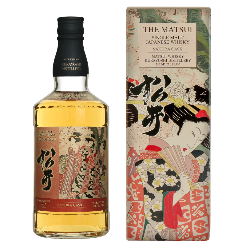Matsui single malt whisky「Matsui Sakura Cask」