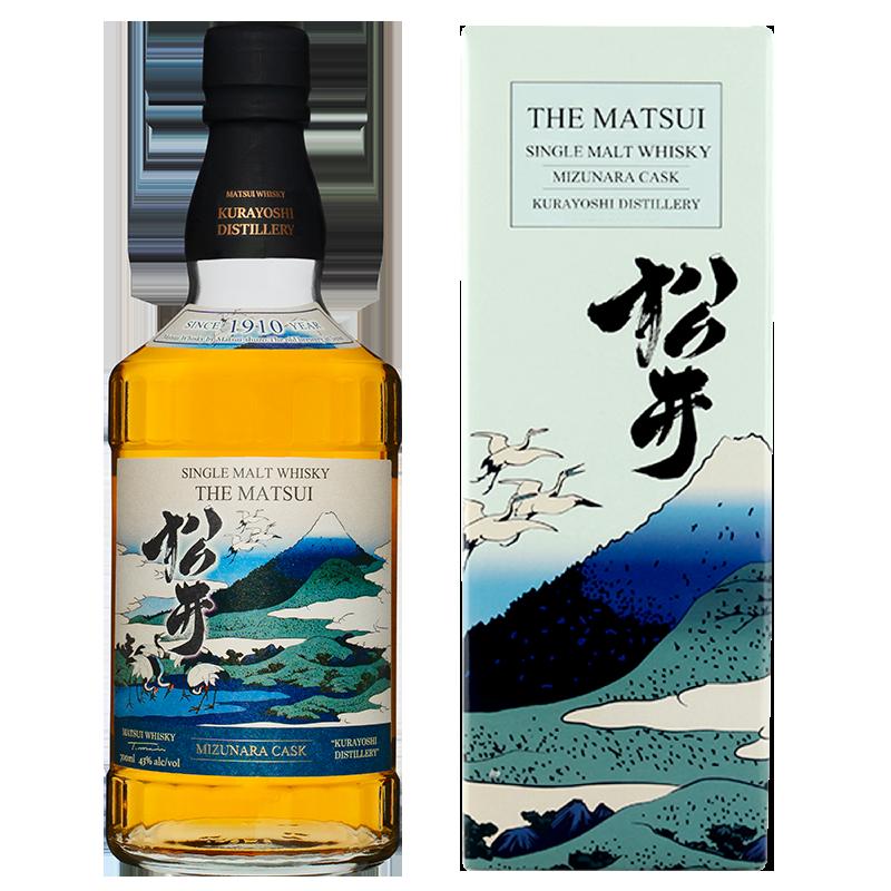 マツイシングルモルトウィスキー「松井 ミズナラカスク 海外限定デザインボトル」