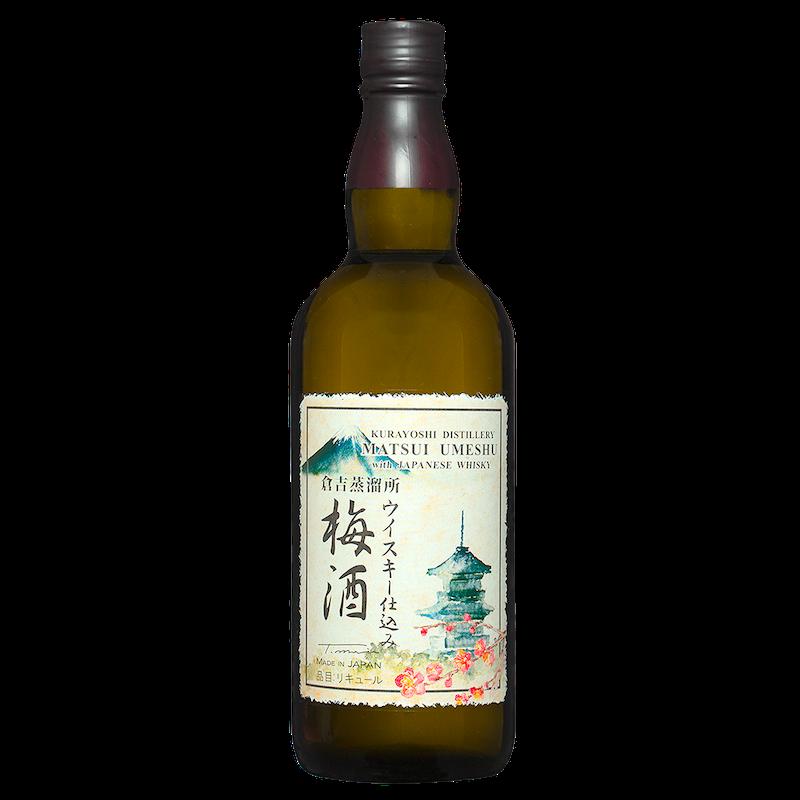 松井梅酒威士忌