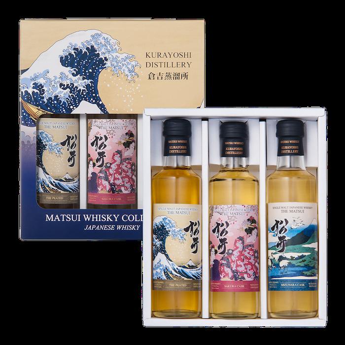 松井单一麦芽威士忌「松井 3瓶套装海外限定」